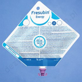 Fresubin ENERGY 500 ml. EASYBAG (karton 15 szt.)