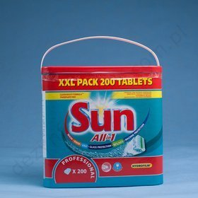 SUN Professional ALL in 1 Tablets 200 SZT. (3,6 kg.)