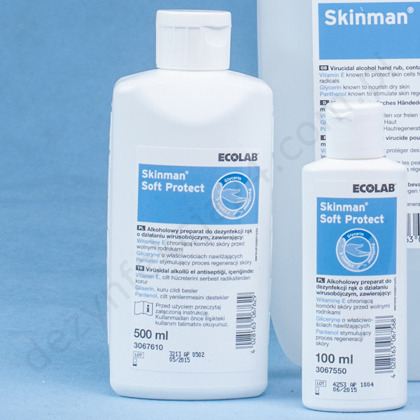 Skinman soft PROTECT 500 ml.