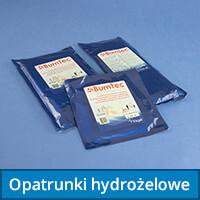 Opatrunki hydrożelowe