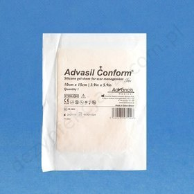 Advasil conform 10 cm x 10 cm, (1 szt.)