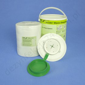 Incidin Dry Wipes Dispenser + chusteczki Basic (99 szt.)
