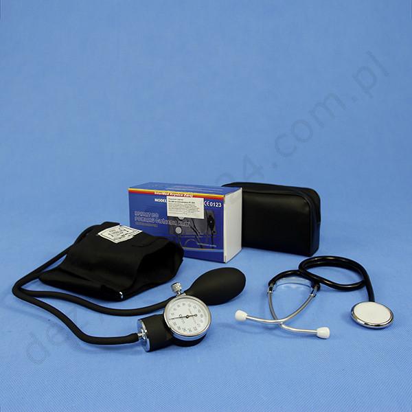 Ciśnieniomierz zegarowy ze stetoskopem Intermed
