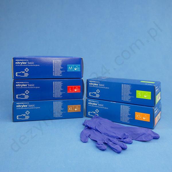 98e00d65b2eceb Nitrylex Basic (Nitrylex PF Protect) – niebieskie (200 szt ...