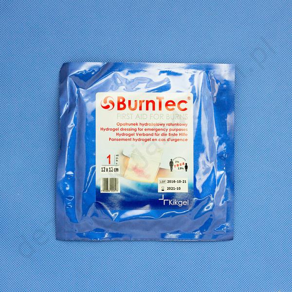 Opatrunek hydrożelowy BurnTec 12 x 12 cm