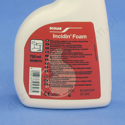 Incidin Foam 750 ml.